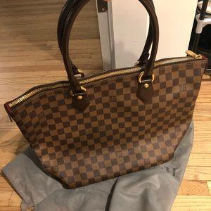Brand new Louis Vuitton checker tote bag